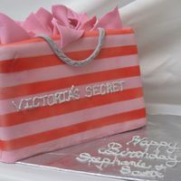 Victoria Secret Birthday My sister is obsessed with victorias secret...this cake was a great hit.