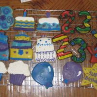 Birthday Cookies.