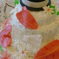 Anthurium And Bow Tie