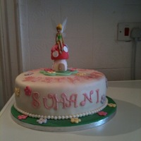Tinkerbell Cake Tinkerbell Cake for a little girl...lots of fun making it!