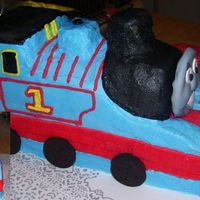 Thomas The Train This is my 2nd 3D try. I think it turned out awesome! The lady I made it for loved it and couldn't wait to show it to her son who is...