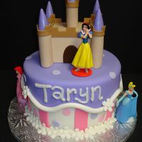 Taryn's Princess Cake Cute little Taryn was turning 5, and was telling everyone that her friend Rachel was making her a princess cake. I didn't get to see...