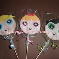 The Powerpuff Girls Cookies