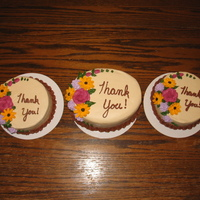 Thank You Cakes Royal icing flowers