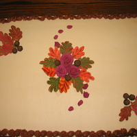 Autumn Leaves all royal icing decorations