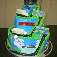 Road Of Life Cake