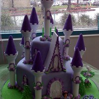 Purple Princess Castle Purple princess castle