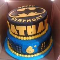 Batman Cake Made this for a friend's son who was turning 6. It was my first time making a Themed cake. I was surprised at how it turned out. Both...