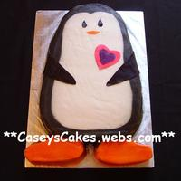 Penguin I made this cake recently for my BFF's 30th B-day. She LOVES penguins & has a keychain wallet that looks exactlylike this. That...