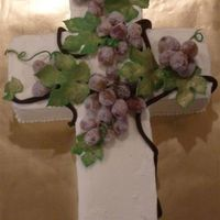 Harvest Cross Cake