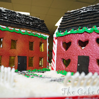 My First Gingerbread House. We are having a contest at work for the first time. I hope to win. I will find out tomorrow.