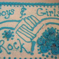 Boys & Girls Club Our youth group did a mission day at the local Boys and Girls Club. I printed the logo off the web & duplicated it on the cake.