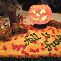 Fall Fun With Lighted Jack-O-Lantern I had so much fun making this for my son's 5th grade class. I saw the light-up JOL in the dollar store and went from there. Great...
