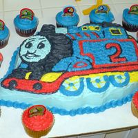 Thomas The Train   For my Godson's 2nd birthday!