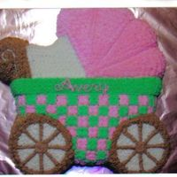 Stroller used the wilton pan and bc icing