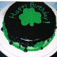 St. Patrick's Baby Made similar cake for a church function and when I auctioned of some of my talent (cake) this cake was requested for a couple of days later...
