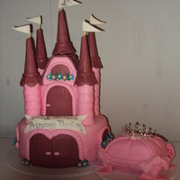 Castle With Pillow Cake