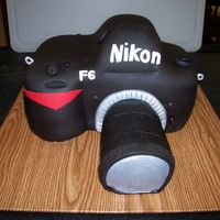 Nikon Camera Cake Camera is cake covered in MMF.