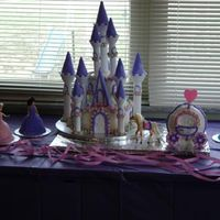 Madison's Castle This was my first castle cake the hardest part was the stage coach. It was made of cake..I loved doing this for my grand daughter and she...
