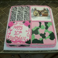 Crazy Cake My daughter saw a photo by Tx Bama, and loved it. She saw it as a way to get everything on one cake. I wish mine looked as good as hers! My...