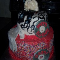 Micheal Jasckson Birthday Cake cake made for a little guy who was turning 5, he loves Micheal Jackson