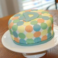Modern Dots It's hard to come up with a modern design for clients with modern taste. This cake was for a baby shower who's host didn't...