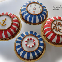 Marine Birthday Cakes