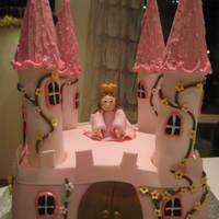 Castle Cake To A Princess-Party