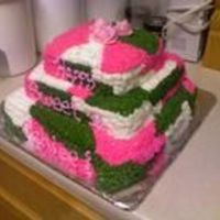 Sweet 16 Square Camo Cake My nieces best friend had to have a camo cake to celebrate her sweet 16 once she saw the one I completed for my niece!