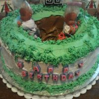 Over The Hill At 30 For a couple of girls at work who thought turning 30 was old, I created the over the hill cake using dolls instead of icing, so that they&#...