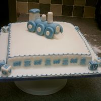 Christening Or Birthday This was for a christening but could be used as abirthday cake