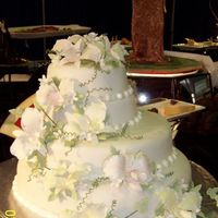 Army Culinary Competition Wedding Cake I made this cake in the army. I found it in a wilton magazine and since we were doing an asian theme for our show table I made a veil of...