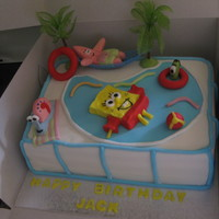 Spongebob And Friends Pool Party