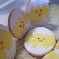 Easter Chicks Quick batch of last minute sugar cookies for Grandkids. Thanks to CC members for the idea of the chicks.