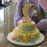 Baby Show Cake This is not my original design. I copied it from a Wilson book.