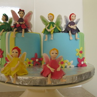 Fairies On Cakes Fairies made from gumpaste, used patchwork cutter video from Utube for the inspiration. These are some cakes that I put in a local show and...