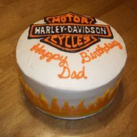 Harley Cake For Kris