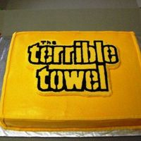 Terrible Towel Cake Steelers Terrible Towel
