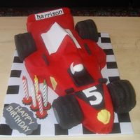 Formula 1 Race Car   3D Formula one race car for a special little 5 year old.