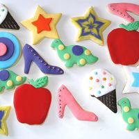 Decorated Cookies Fondant & glazed decorated cookies