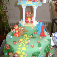 In The Night Garden 1St Birthday Cake In the night garden theme cake for a 1 year old girl's birthday