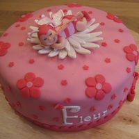Babygirl Butterfly Cake I've made this cake for my little niece who was born on 08-02-2009