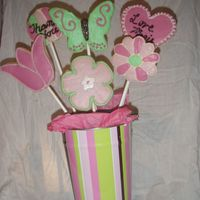Ms. Stell's Bouquet My 2nd cookie bouquet! Learned a lot putting it all together.