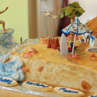 Surf Themed Cake
