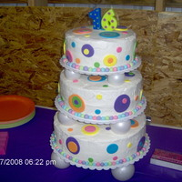 Sweet 16 Birthday Cake I done this 3 tier cake for my daughter's Sweet 16 a couple years ago. Each tier is a different flavor cake - vanilla, chocolate &amp...