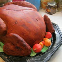 Turkey Cake! many thanks to my fellow cc?ers for inspiring me to make this cake! I took the cake to the Ronald MacDonald House last fall and it was a...