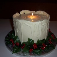 Candle Cake My first attempt at this cake. Took me three tried to apply the white chocolate smooth enough! Inspiration is from shesacraftie1 and a few...