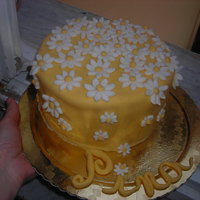 Please Dont Eat Daisies I made this cake for my mother's 72th birthday. It'a a lemon cake filled with lemon buttercream, covered and decoreted with...
