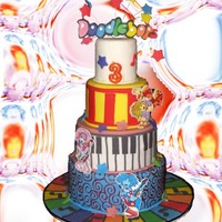 Doodlebops This was my daughter's birthday cake. Sorry about the crazy background. My dad has been helping me remove the backsgrounds because I...