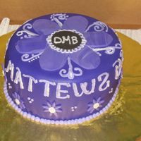Dmb Concert Cake This cake was for me! I rarely make a cake for myself, but my favorite band is coming to town and I wanted to celebrate with cake! It was...